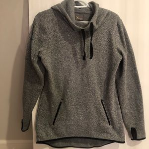 Active Wear Sweatshirt with warm fleece inside.